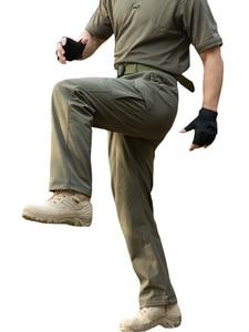 Image 4 - MEGE רך פגז טקטי הסוואה מכנסיים גברים עמיד למים Combat צבאי מטען חם צמר Camo חורף חם צבא Modis מכנסיים