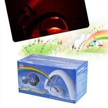 Colorful Rainbow LED Night Light Romantic Sky Rainbow Projector Lamp luminaria Home bedroom