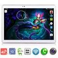 2017 Новый 10 дюймов Tablet PC Окта основные 4 ГБ RAM 32 ГБ ROM wi-fi OTG 4 Г LTE Android 6.0 Tablet GPS Pad планшетные пк 10.1 + Подарки