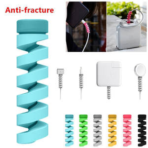 10 pcs MIX Protector Saver For Apple iPhone 8 X USB Charger Cable Cord