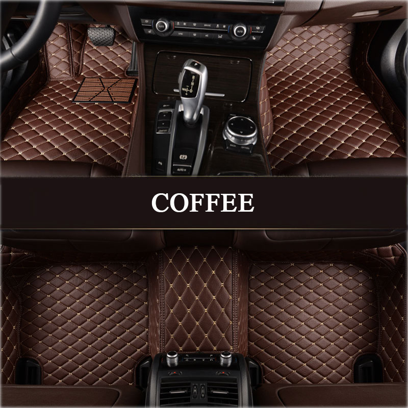 Custom made car floor mats for Mitsubishi Lancer Galant ASX Pajero sport V73 V93 V95 V97 3D car styling carpet rugs floor liner