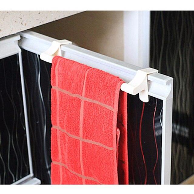 9cb05fd7f4543d Papier kuchenny przechowywania wieszak na ręczniki uchwyt Papier toaletowy  wieszak na bieliznę pod szafką ściereczki kuchenne