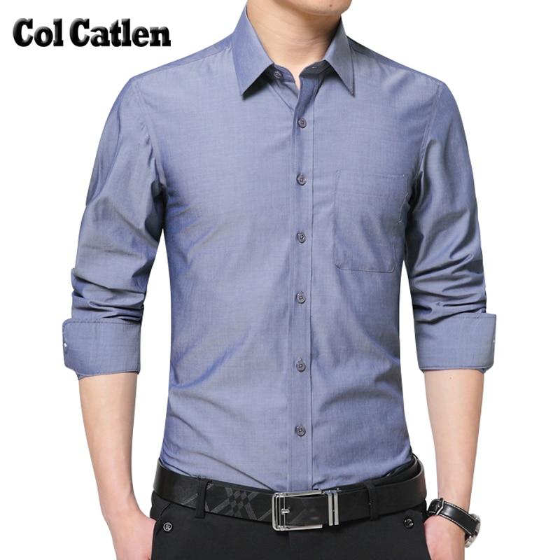 2017 New Brand Casual Shirts Men Fashion Slim Long Sleeve Shirts for Male Autumn Cotton Blouse Large Size 5XL Camisas Masculina
