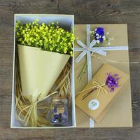 1 ST Sky Stars Bloemen Met Fles Prachtige Gift Moederdag Geschenkdoos Woondecoratie Fotografie Bruiloft Verjaardagscadeau K3