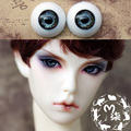 1Pair Retail Acrylic Doll Eyes 14MM Doll Eyeball  SD BJD Eyes 12MM