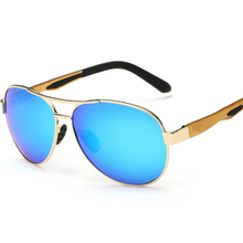 Free Fisher Brand Metal Polarized Sunglasses Men Sports Outd