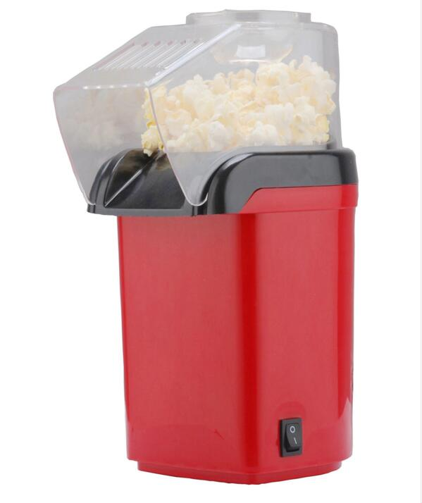 Mini Popcorn Maker Nostalgic Hot Air Popcorn Machine Household Popcorn Popper Electric mini popcorn makers pop 08 commercial electric popcorn machine popcorn maker for coffee shop popcorn making machine