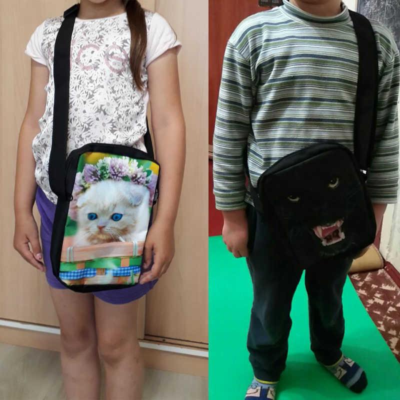 INSTANTARTS Engraçado 3D Cão/Filhote de Cachorro Cão Ibizan Impressão Sacos de Escola Das Crianças do jardim de Infância Estudantes Mini Crossbody Sacos de Bebê Mochilas