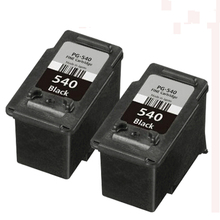 2x Compatible canon PG 540 BLACK ink cartridge For PIXMA MG4250 MX375 MX435 MX475 MX515 MX525 MX535 MX455 MX395 Printer