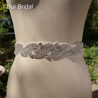 Rhinestone Bridal Sash Wedding Belt