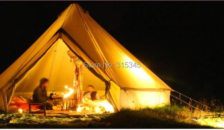 Factory Sale White or Colored 5M Canvas Bell Tent Indian Tent Teepee Tents Oxford Bell Tent-in Tents from Sports u0026 Entertainment on Aliexpress.com | Alibaba ... & Factory Sale White or Colored 5M Canvas Bell Tent Indian Tent ...