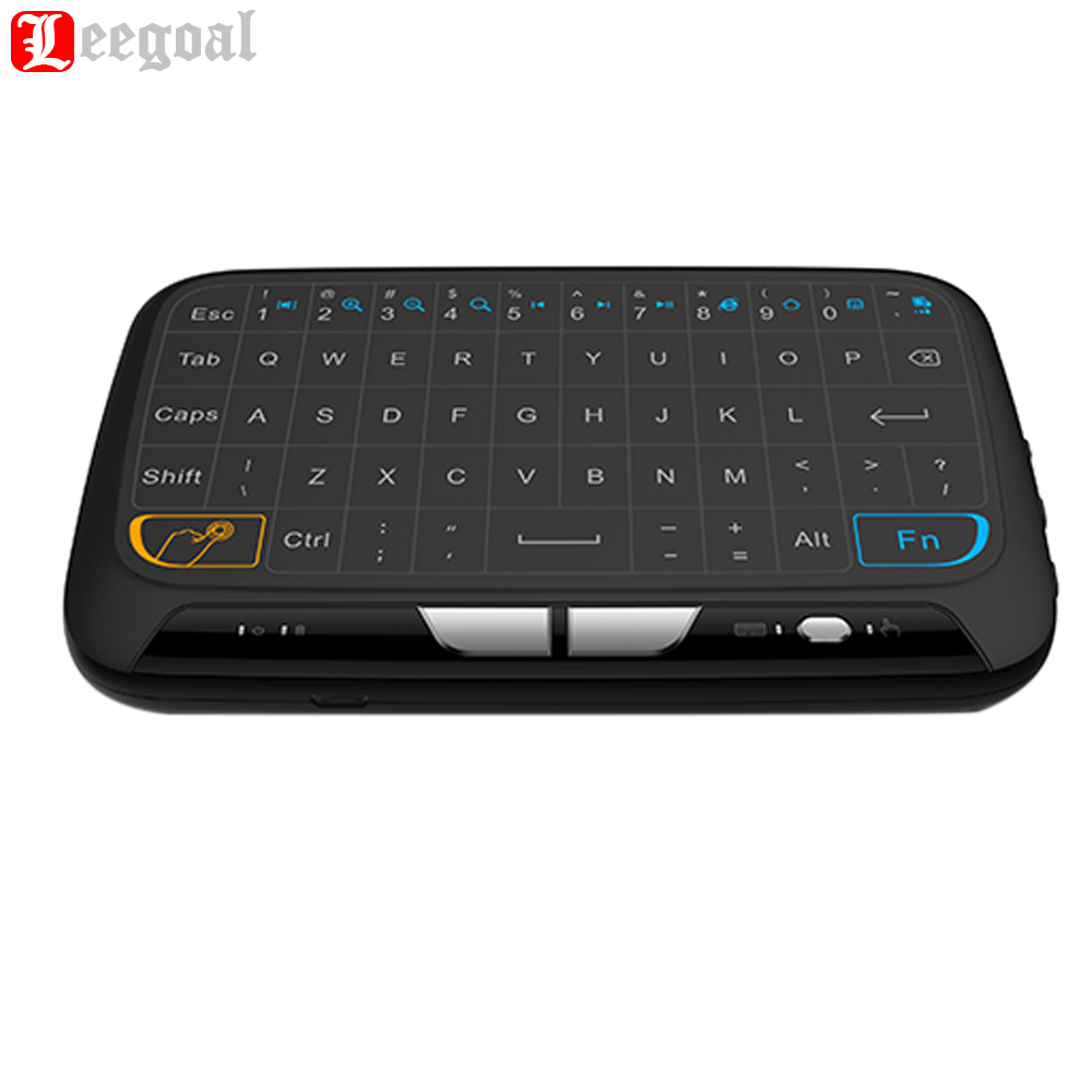 Mini Wireless Keyboard 2.4 G Portable Keyboard With Touchpad Mouse for Windows Android/Google/Smart TV Linux Windows Mac