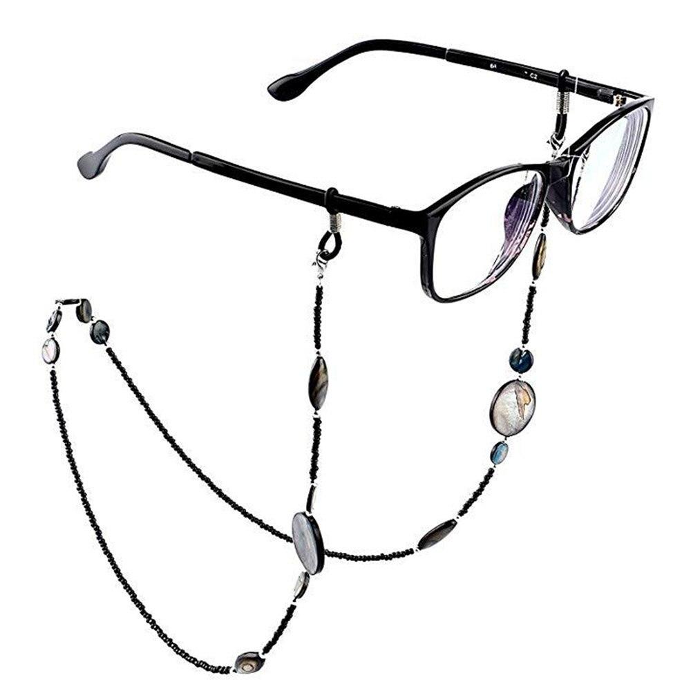 Occhiali da sole sunglass Cinghia fermo Occhiali Eye Wear Nero Corda CASE NEW