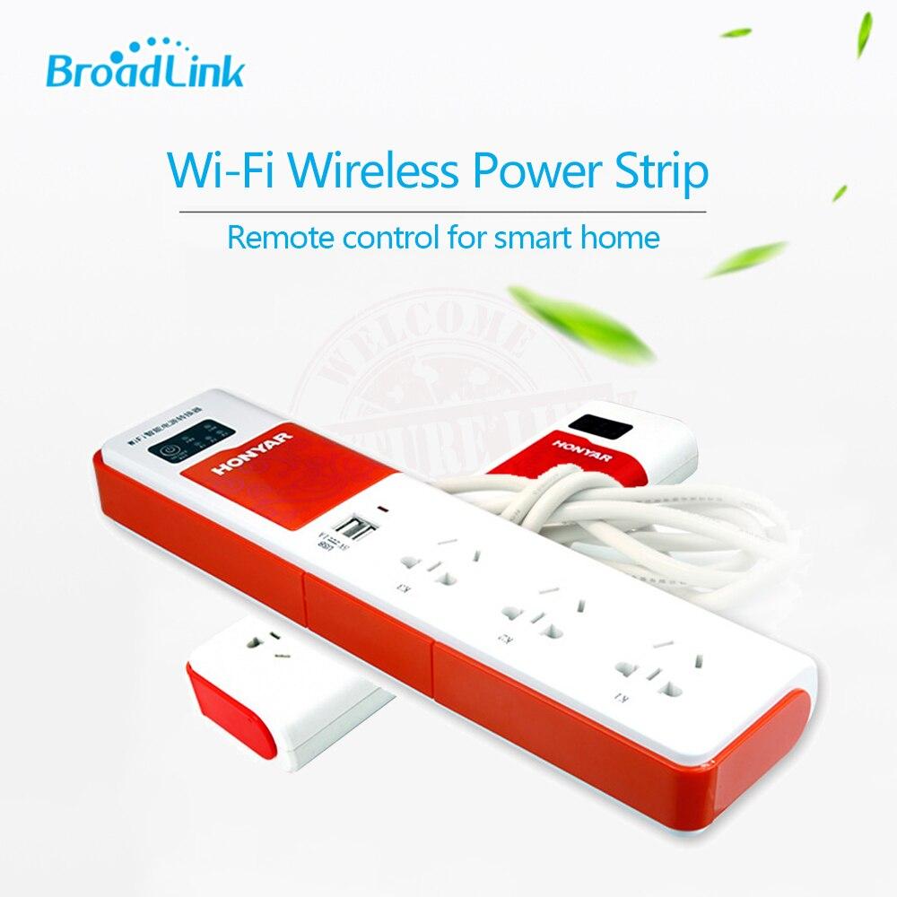 broadlink dna honyar smart home intelligent smart wifi plug extension remote control socket plug. Black Bedroom Furniture Sets. Home Design Ideas