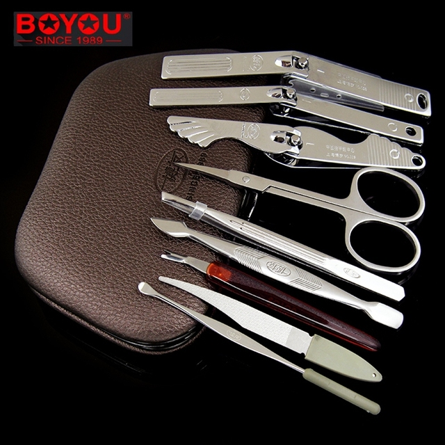 Manicure Curette Professional Nail Tool Set Manicure Cureta De Unha ...