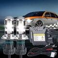 Kit de lámpara de xenón Bi h4 alta baja 12 v 35 W DC h4 HID xenon Reemplazo De la lámpara De la Linterna Del Coche 4300 k 5000 k 6000 k 8000 k 10000 k
