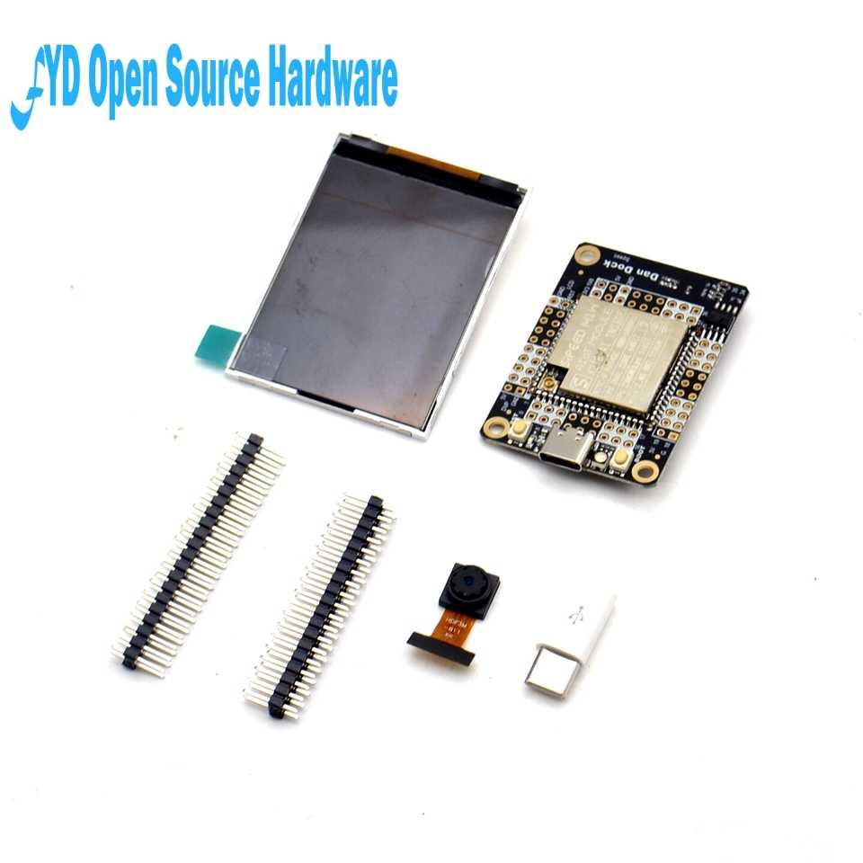 1set Sipeed M1 Dock Development Board + 2.4 inch 320*240 LCD Screen + OV2640 Camera Kit