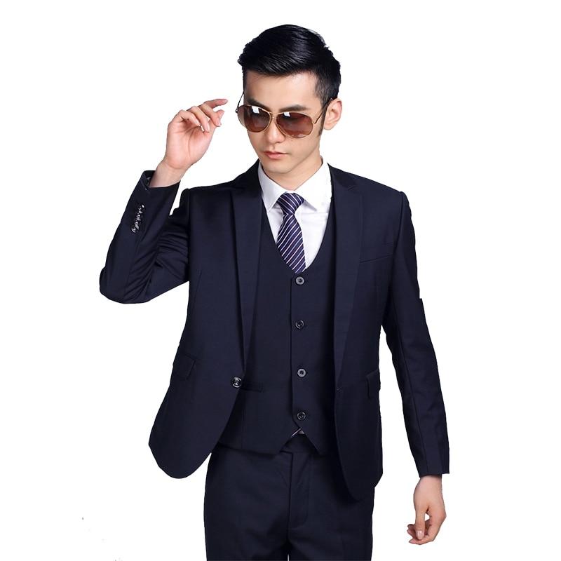 Buy jackets pants tie 2017 new arrival men suit fashion mens slim fit - Hochzeitsanzug hugo boss ...