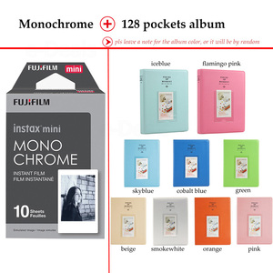 Image 4 - Fujifilm Instax Mini Film Monochrome 10 Sheets for Instax Mini 9 8 7s 70 90 25 Instant Polariod Camera Smartphone Printer SP 2 1