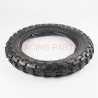 Tyre trasero 10 pulgadas negro rueda de acero 2.50 10 tyre para crf50 dirt pit bike motocross OFF ROAD motocicleta