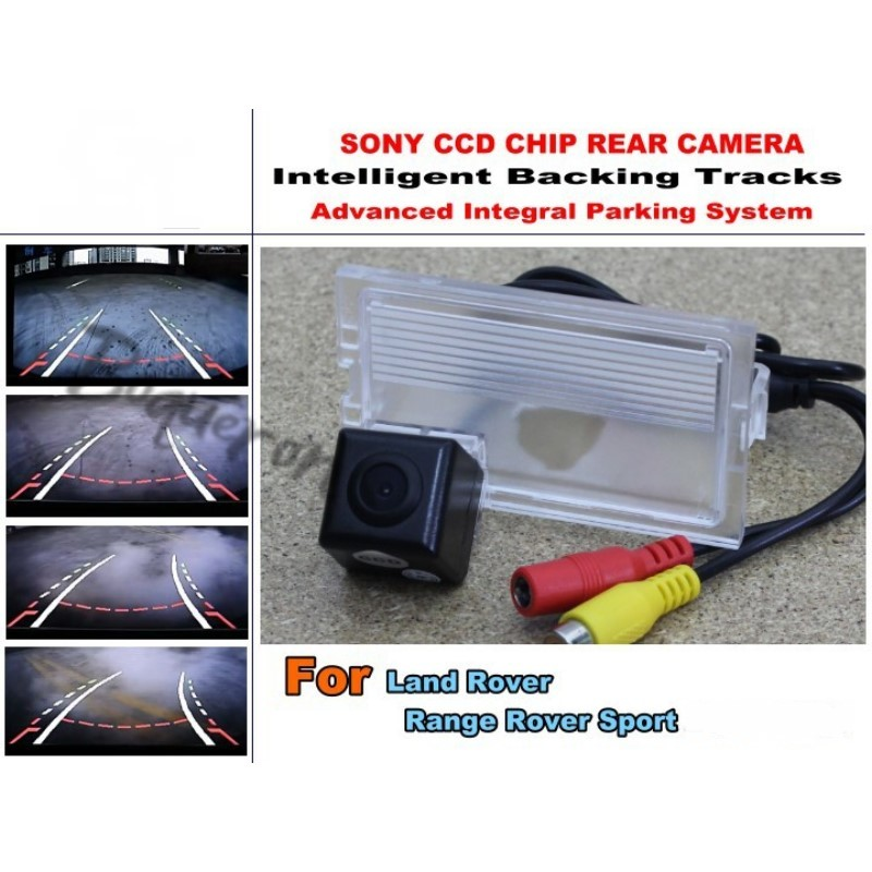 For Land Rover Range Rover Sport Smart Tracks Chip Camera / HD CCD Intelligent Dynamic Parking Car Rear View Camera