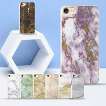 Fashion Marble Texture for iPhone 5 5S SE Case Stone texture soft silicone TPU Cases Funda Phone