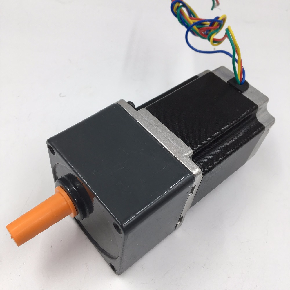 57BYG Geared Stepper Motor Nema23 Ratio 10 :1 Gear Reducer Gearbox L76mm 3.5A 1.8Nm for DIY CNC Router New 57byg gear stepper motor ratio 5 1 gearbox l76mm 3 0a 9n m 2phase nema23 stepper motor for cnc router