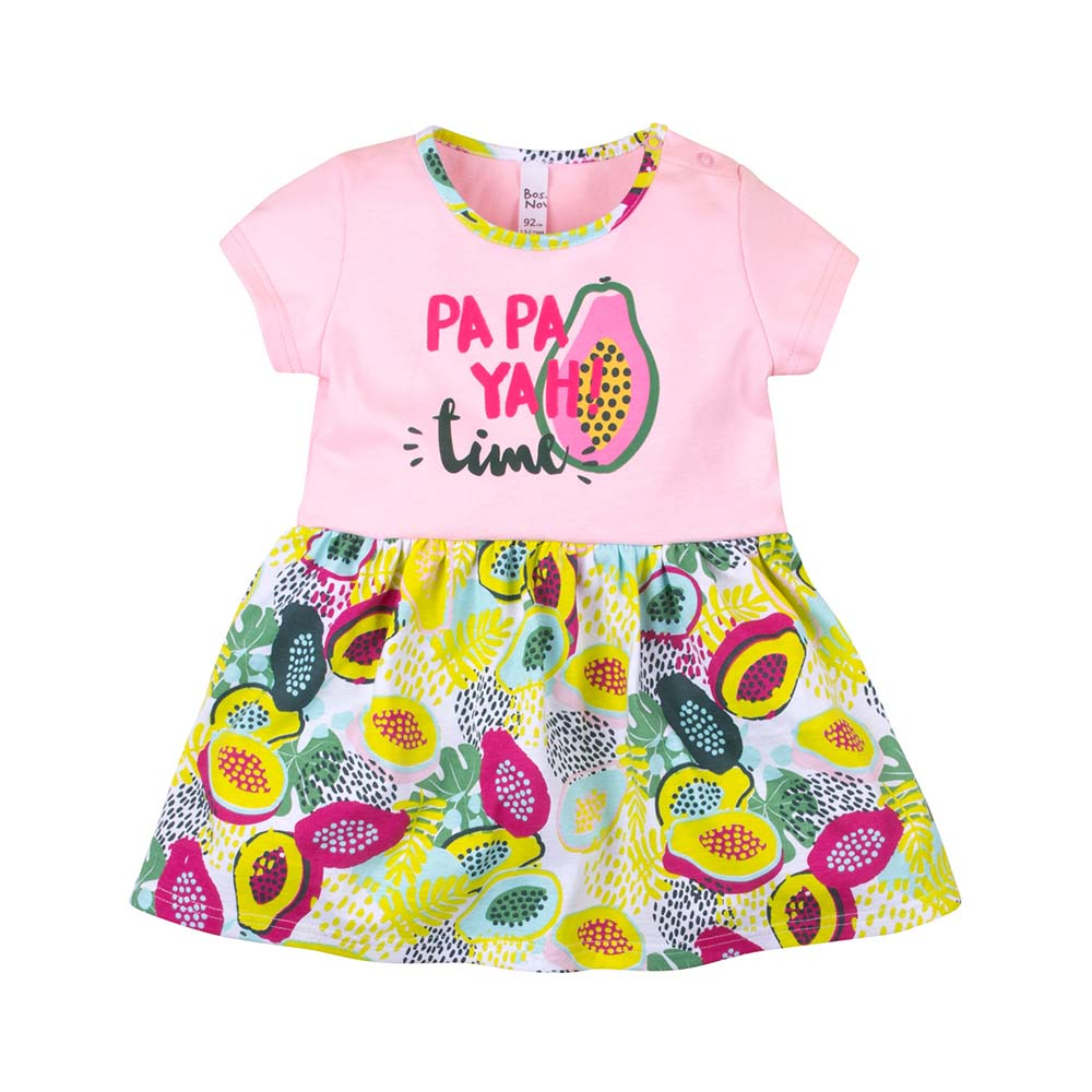 Dresses BOSSA NOVA for girls 145b-161 Kids Sundress Baby clothing Dress Children clothes fashion spring owl baby girl dress autumn robe enfant fille printing european style baby girl dress princess grils party dresses