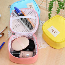 MIWIND Cosmetic Bag Women Travel Make up Mini Toiletry Bag of Makeup Case Cosmetic Bag Organizer Accessories TAQ716