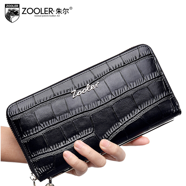 free delivery  Women bag   2016 new crocodile pattern clutch Fashion Wallets