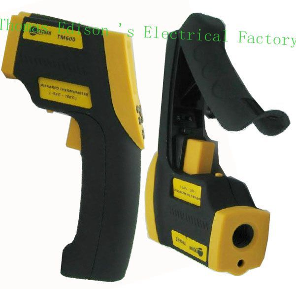 Tecman genuine TM600 Handheld infrared thermometer non contact thermometer temperature gun meter -50C~700C degrees  цены