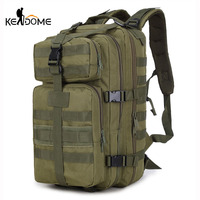 35L MOLLE Military Tactical Backpack Male Camouflage Travel Sports Army Bags Hiking Trekking Mountaineering Backpacks XA141WD