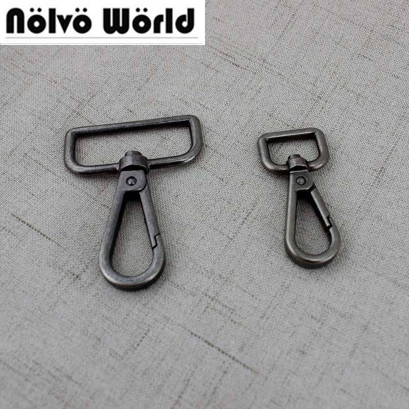 50pcs 19mm Old Silver High Quality Trigger Snap Hook Hand Bag Gold Swivel Clasp Hooks Hardware Accessory DIY Hardware