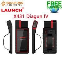 Versão original lançamento x431 diagun iv ferramenta de diagnóstico automático original 2 anos atualização gratuita em linha X-431 diagun iv