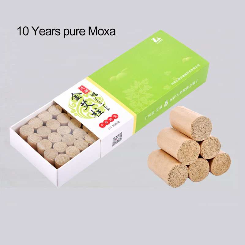 55 Pcs Moxa Moxibustion Heat Therapy Acupuncture Relieve Pain Injury Arthritis Body Cold Against Cold Chinese Cupping Acupunctur