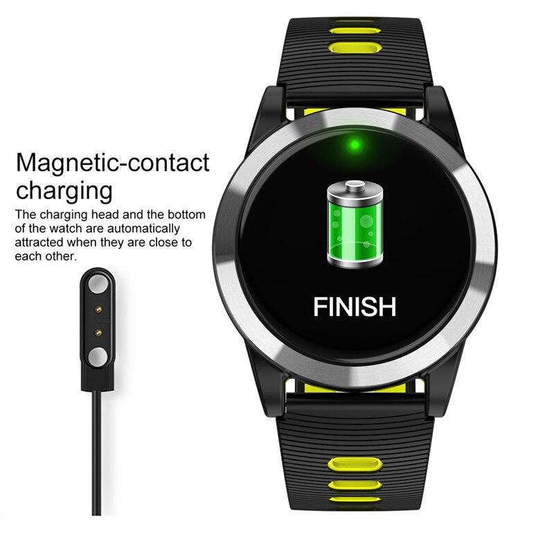 Montre intelligente hommes femmes étanche pression artérielle montres intelligentes podomètre numérique Bracelet Fitness Tracker pour IOS Android - 4