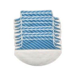 10 шт./лот стирать ткань mop площадку замены Для Ecovacs DT85 DT83 DM81 DM85 DM86 пылесос тряпка из микрофибры аппликации