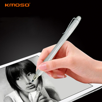 Universal Aluminum Alloy Capacitive Touch Screen Stylus Pen For Tablet Pc GPS Metal Pencil With Clip