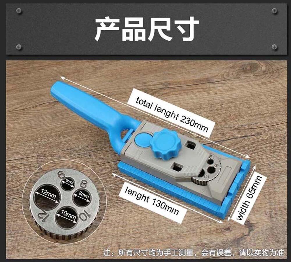 System przyrządów do obróbki drewna kieszonkowego AMYAMY Wiercenie - Akcesoria do elektronarzędzi - Zdjęcie 5