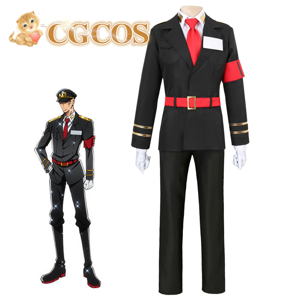 CGCOS Express! Nanbaka Hajime Soguroku Uniform Anime Cosplay Costume Custom-made Halloween Game Cos