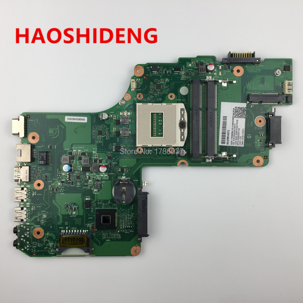 V000325140 For Toshiba Satellite  C55 C55D C55T C55DT C55T-A Laptop Motherboard,All functions fully Tested ! for toshiba satellite l745 l740 intel laptop motherboard a000093450 date5mb16a0 hm65 tested
