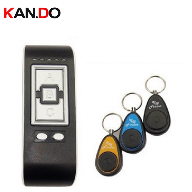 H503 Wireless Electronic Key Finder 3 Receivers anti-Lost alarm Keys Locator Whistle Key Finder finding alarm anti lost fashion design 2 in 1 alarm remote wireless key finder seeker locator find lost key 2 receiver anti lost alarm