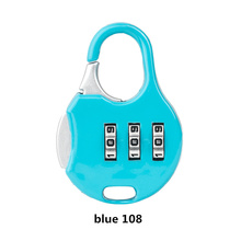 Lowest price 10PCS Luggage lock 3 digit Safety Code Lock high quality Anti-theft Portable padlock Gym backpack bicycle