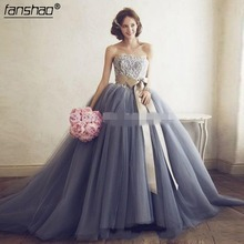 Quinceanera Dresses Ball-Gown Tulle Sweet Lace New Floor-Length with Bow 16-Dresses/vestidos-De-16