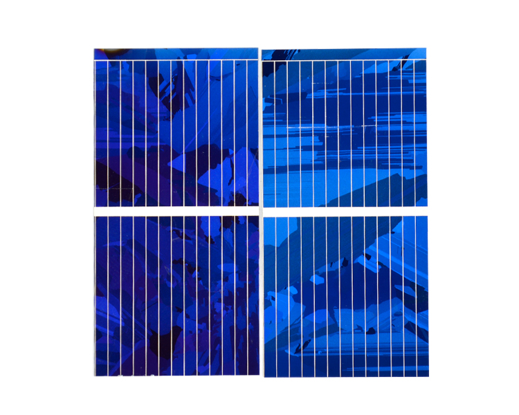 Aoshike 0.5V 0.45A Solar Panel Polycrystalline Silicon Solar Cells Solar Module DIY Solar Sunpower Charger Power 52*26mm 100pcs 9