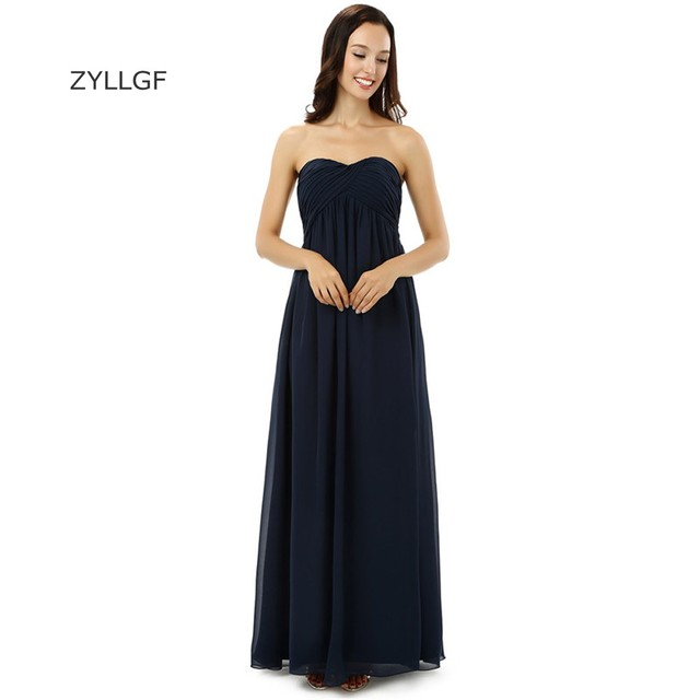 ZYLLGF Turkish Evening Dresses Sweetheart Long Chiffon Women Formal Dresses  Western Style Evening Wear Made In c234d3306ab2