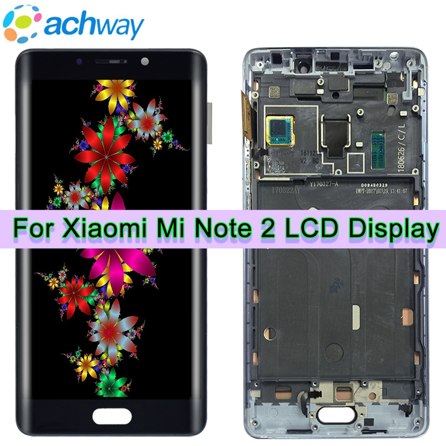 Mobile Phone Parts Helpful For 5.7 Fhd Xiaomi Mi Note 2 Lcd Display Touch Screen Digitizer Assembly Note2 1920x1080 Xiaomi Mi Note 2 Display Replacement
