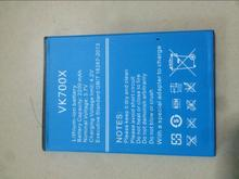 Vkworld VK700X Battery 100% Original 2200mAh Li-ion Battery Replacement For Vkworld VK700X Pro Smart Phone With In stock replacement 2200mah 3 7v li ion battery for leagoo lead1 green