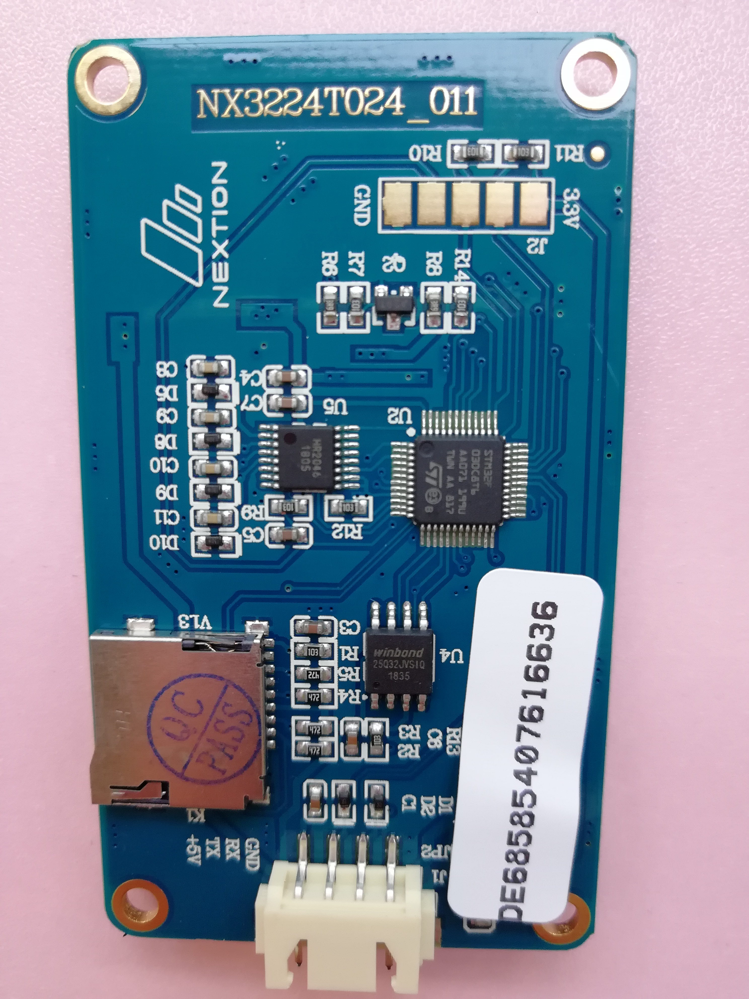 """MMDVM LCD Display Acrylic /""""L/"""" Case+ Nextion screen 4.3/'/'+USB to TTL Adapter"""