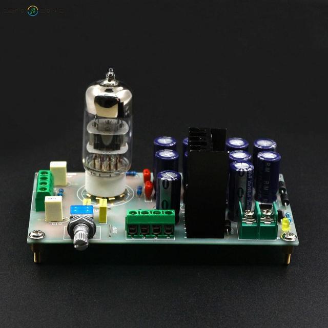 GZLOZONE Assembled 6N3 Tube Buffer Preamplifier Board HIFI Vacuum Tube Preamp Board